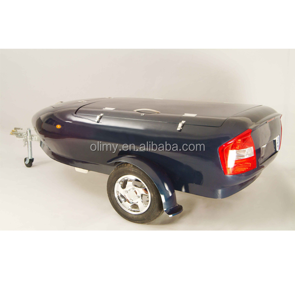 High quality hand lay up fiberglass travel trailer for sale