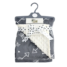Super Soft Flannel Fabric Baby <span class=keywords><strong>담요</strong></span> <span class=keywords><strong>스페인</strong></span> Style