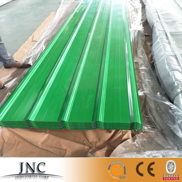 Color Prepainted Corrugated Galvanized Galvalume Steel Sheet Metal Alu Zinc Gi Gl Roofing