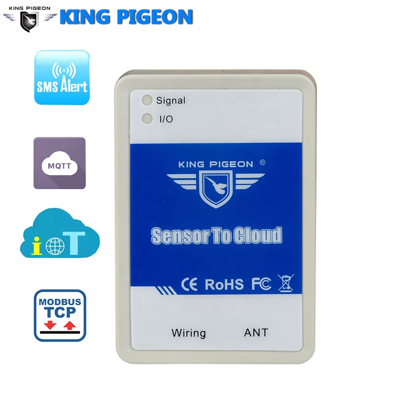 GSM GPRS 3G 4G Nb-Iot Lora Ethernet and Multiple Communication Mode Sensor Upload Cloud Control Unit