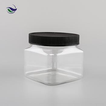 Malaysia Kedah Cookies Packaging Boxes Custom Logo Bpa Free Pet Bottle  Plastic Square Jar - Buy Square Jar Product on Alibaba com