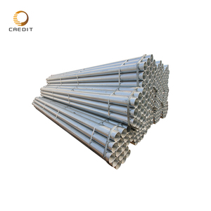 BS1387 threaded Pre galvanized steel pipe 6' diameter galvanized culvert pipe for sale