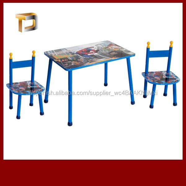 Madera niños reposteria y silla para niños/niños escritorio y silla ...