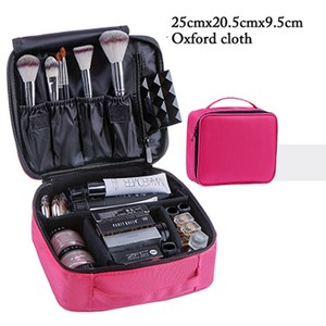 Complete 4 colors professional makeup set including eye shadow, make-up remover, lipstick, brush set, etc.