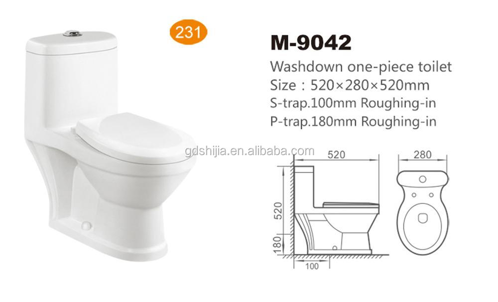 M 9042 Children Size Ceramic Small Toilet Sanitary Ware