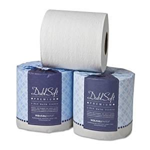 Wausau Paper - DublSoft Bath Tissue, 2-Ply, 80 Rolls/Carton 06380 (DMi CT