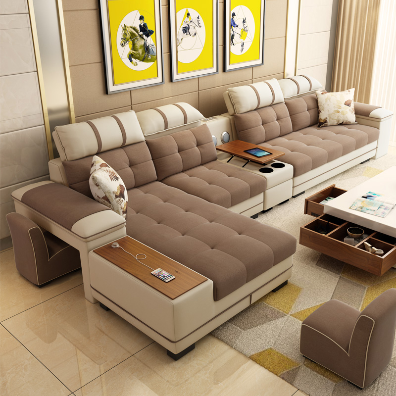 Customizable And Reconfigurable Deep Seating Couch Sectional Living Room  Combination Sofa Set 7 Seater Corner Sofa - Buy 7 Seater Sectional Sofa Set  7 ...