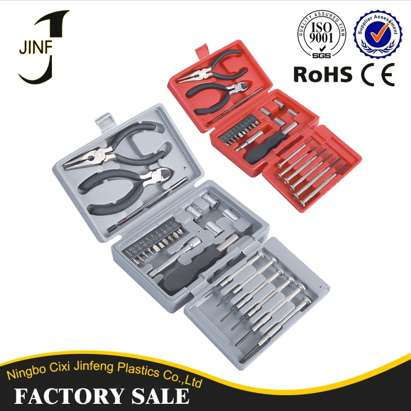 Alibaba China NO.1 Metal Toolbox Trading Wholesale High Quality Household Tool Kit With Computer Repair Forceps