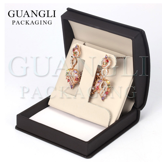 travel portable jewellery packaging book gift pu new jewelry essentials collection earrings display stud leather box storage creative boxes home
