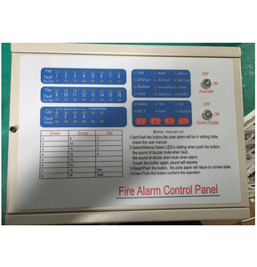 N23 Chinese factory manufacturing NW8200L-8 high quality easy control panel addressable fire alarm system
