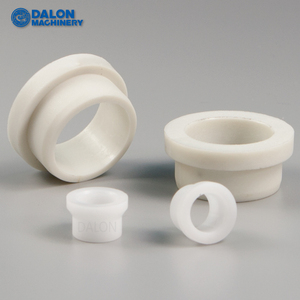 plastic nylon flanged pipe sliding bushing sleeve