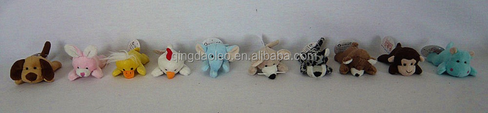various plush fridge magnet animal toys