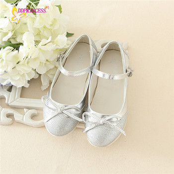 eeb7b3a7996 kids silver shoes girls shoes party wearing low heel fashion little girls  shoes good quality sweet