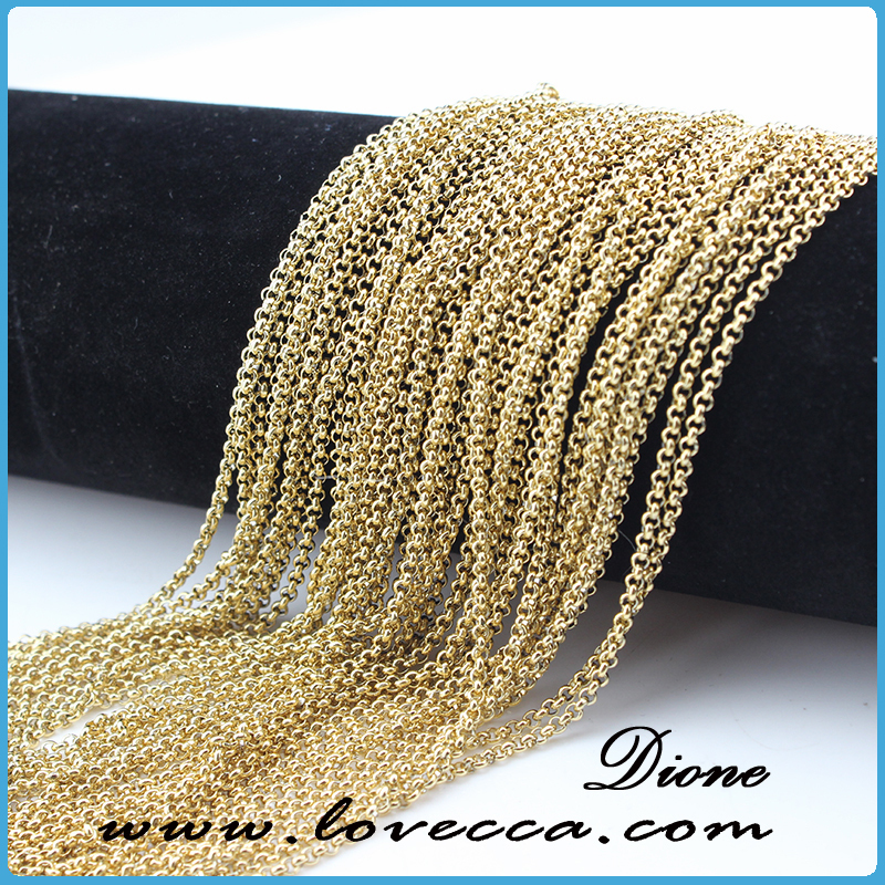 Gold Long Chain Pearl Necklace,Long Thin Chain Necklace,Men ...