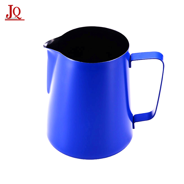 Stainless Steel Boiling Milk Pot Milk Coffee Latte Frothing Garland Cup