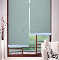 white coating blackout embossed dying roller blind fabric