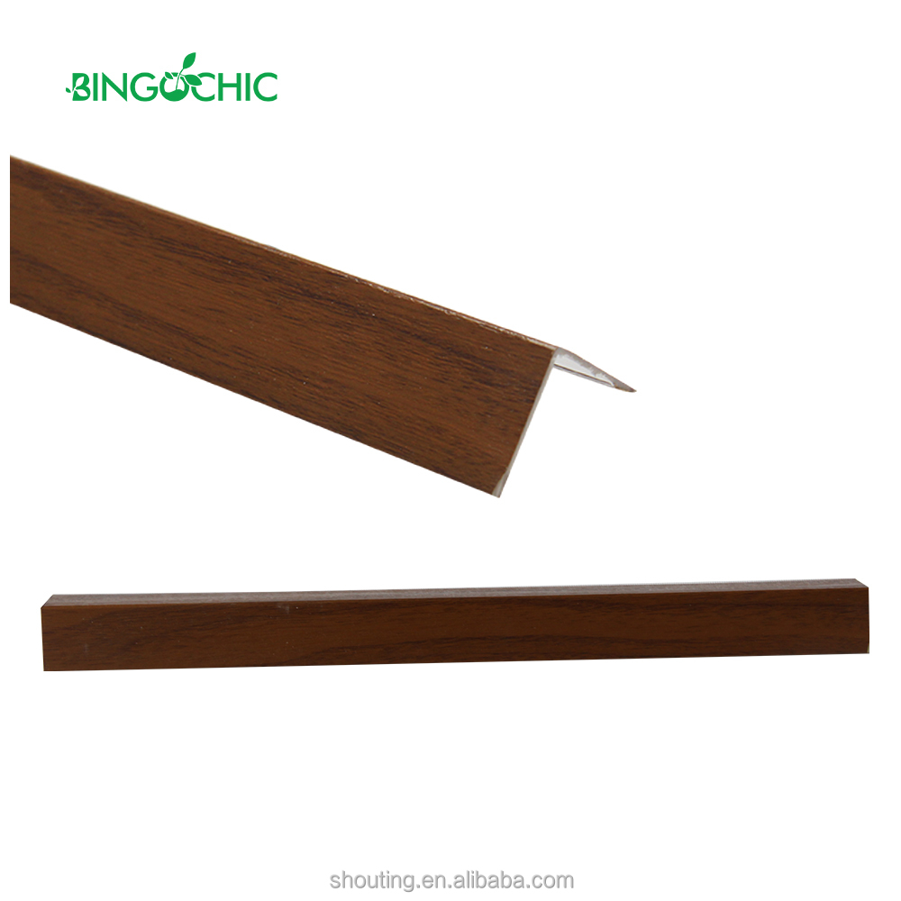 PVC Ceiling Panel Accessories L Type PVC Ceiling Cornice