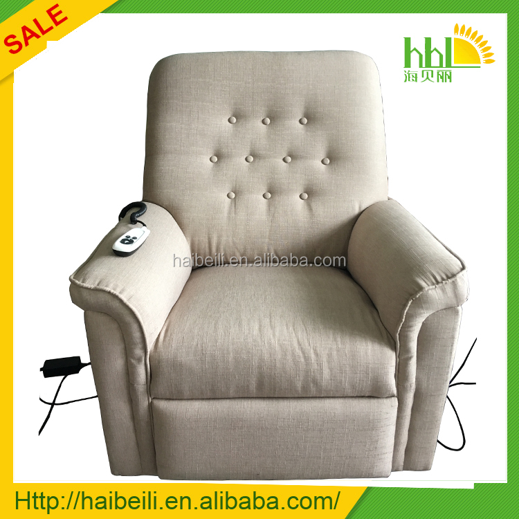 European Single Seater Recliner Sofa Electric massage lift Chair for old people