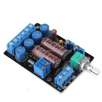 Ta2024 Dc 12v Mini Computer Laptop Speaker Power Audio Amplifier Board  Module Pcb Audio Input With Terminal Block For Robot - Buy 15w+15w 20w+20w