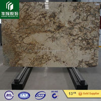 Golden Persa popular golden granite polished or flamed slabs and cut to size tiles for indor and out door project usage