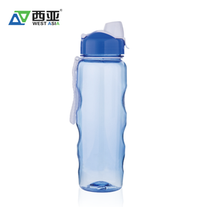 China manufacturer hot sale high quality custom logo 700ml water sports plastic bpa free water bottle for sale