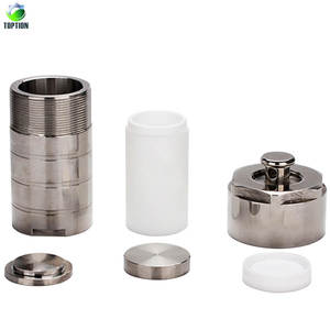 Toption hydrothermal autoclave reactor with teflon chamber 100ml 150ml 200ml Reaction Kettle