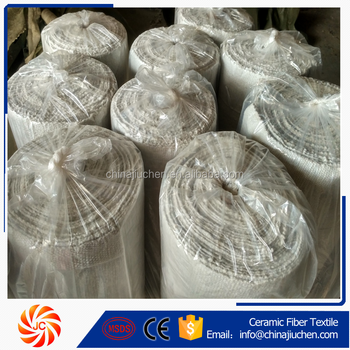 1260 Industrial Furnace Liner Refractory Ceramic Fiber Wool Cloth