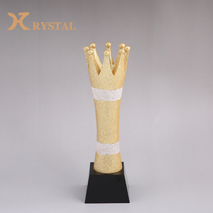 Fantastic Design Golden Crown Trophy For Graduation Souvenirs Gift