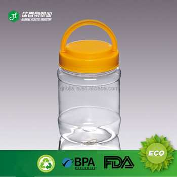 Empty Round Screw Food Grade Pba Free Plastic Kimchi Jar Baby Food Jars In Bulk Buy Plastic Mason Jars Bulkplastic Jar For Foodpba Free Plastic