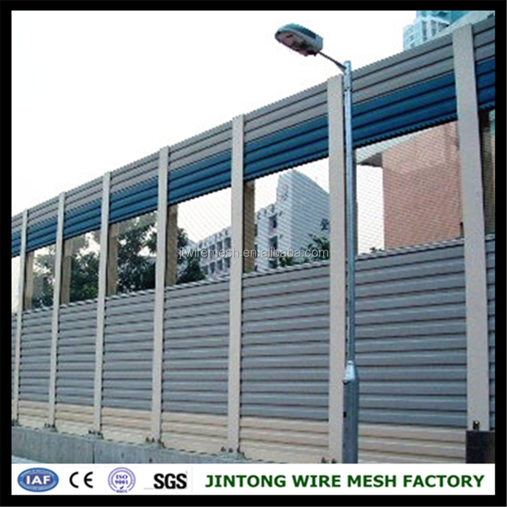 construction road metal soundproof noise barrier singapore