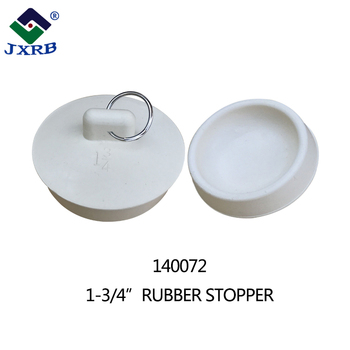 Wholesale shower faucets waste plug round rubber baby drain bathtub stopper