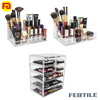 HHH 423868 High Quality Beautify Extra Large Tiers Clear Acrylic Cosmetic Makeup Cube Organizer Storage