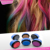 Hot selling new design 2 sides colors no brand glitter hair color comb High Quality Applications in Each Chalk Stick hair color