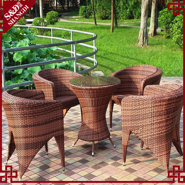 Outdoor Furniture Colorful Chair Rattan Furniture ...