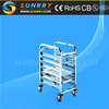 Stainless Steel Bakery Rack Trolley/Stainless Steel Bakery Trolley/Food Trolley For Sale (SY-TR611 SUNRRY)