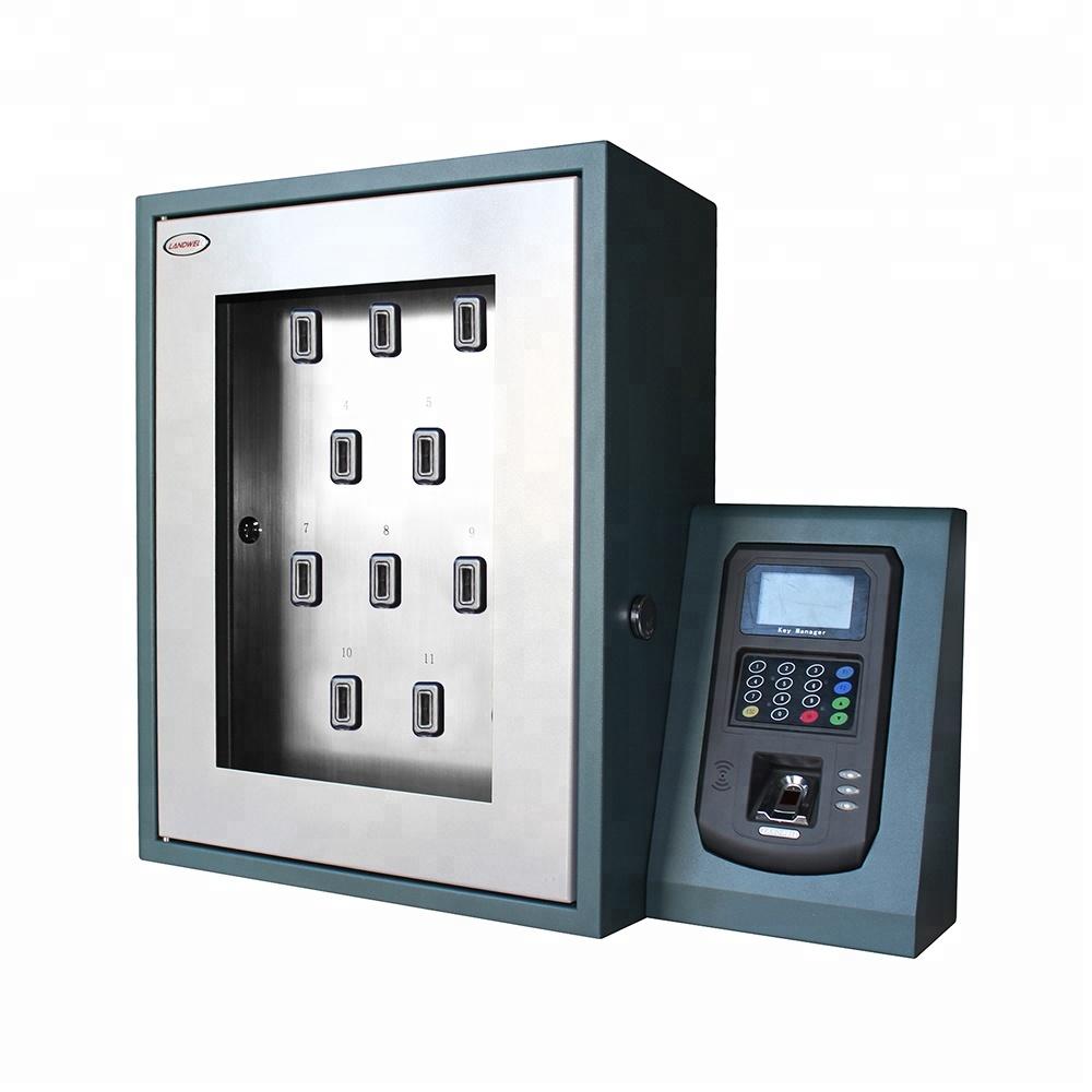แผ่นเหล็กRFIDอัจฉริยะOrganizerตู้สำหรับกุญแจรถ 16 Slots KEY