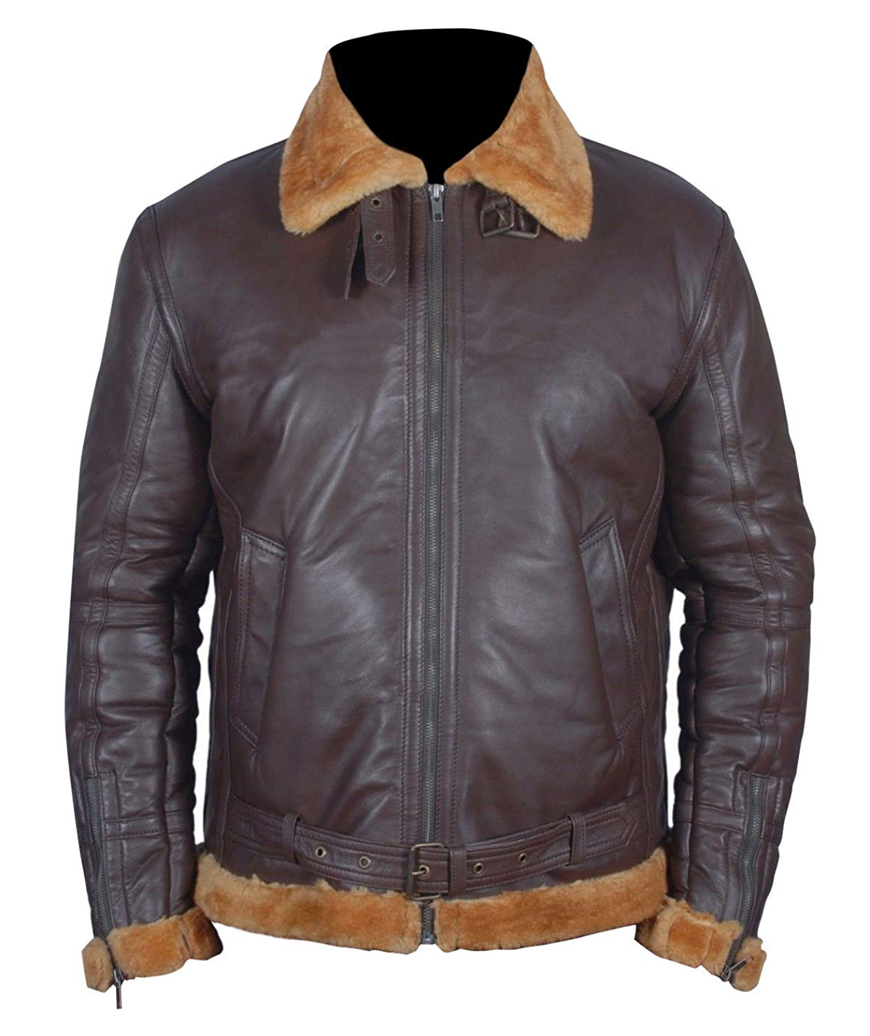 Farrier Fur Collar Shearling Dunkirk Aviator Sheepskin Tom Brown Hardy Bomber Urban Flight Leather Jacket