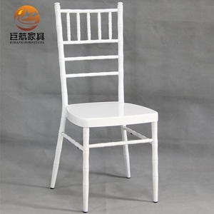 factory wholesale white tiffany chairs chiavari chair for wedding party