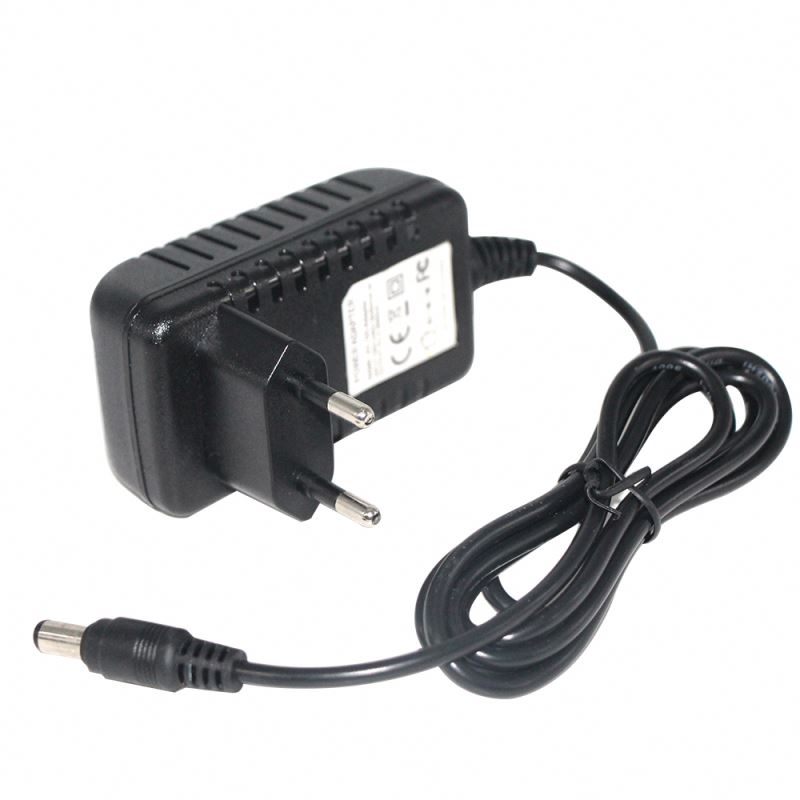 White Black Eu European 12v Medical Dc Ac 2a Cctv 1a 1.5a 1.5 A 1 Amp Europe Power <strong>Adapter</strong>