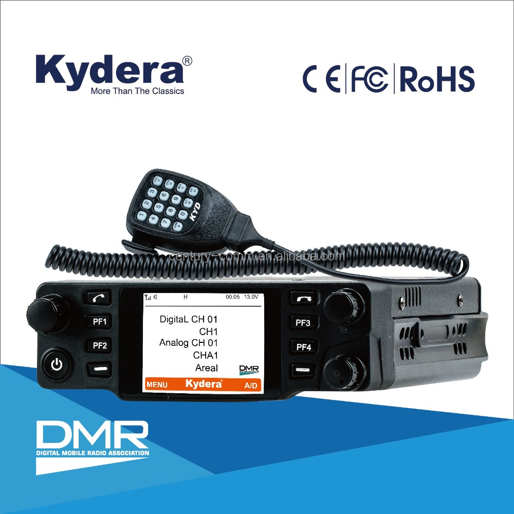 vhf dmr mobile radio CDM-550H with TierII from Kydera