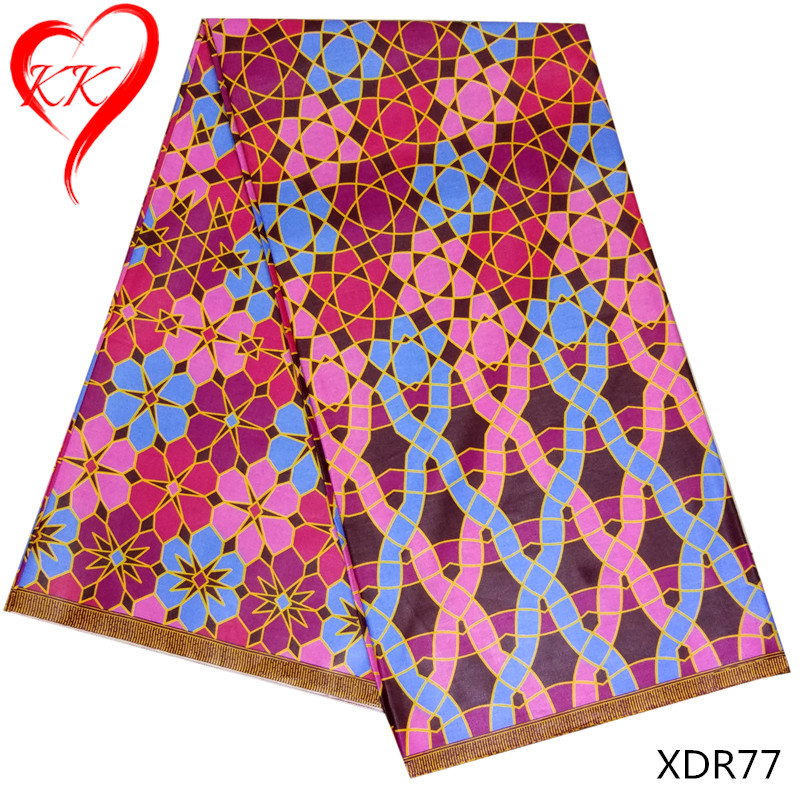 Egyptian cotton fabric wholesale african print fabric 100% cotton newest wax fabric for women XDR77-82