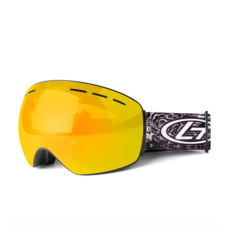 Fast shipping stylish 반대로 uv pc lens 방풍 sport custom ski 스노우 보드 고글