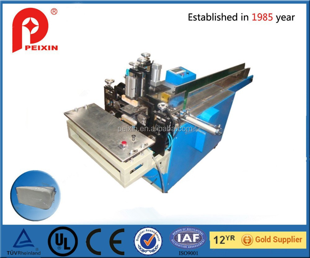 semi-auto napkin/ tissue paper packaging machine