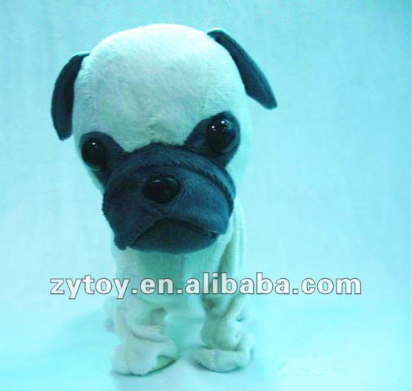 Soft Bulldog Plush Stuffed Dog Toys from ICTI Factory