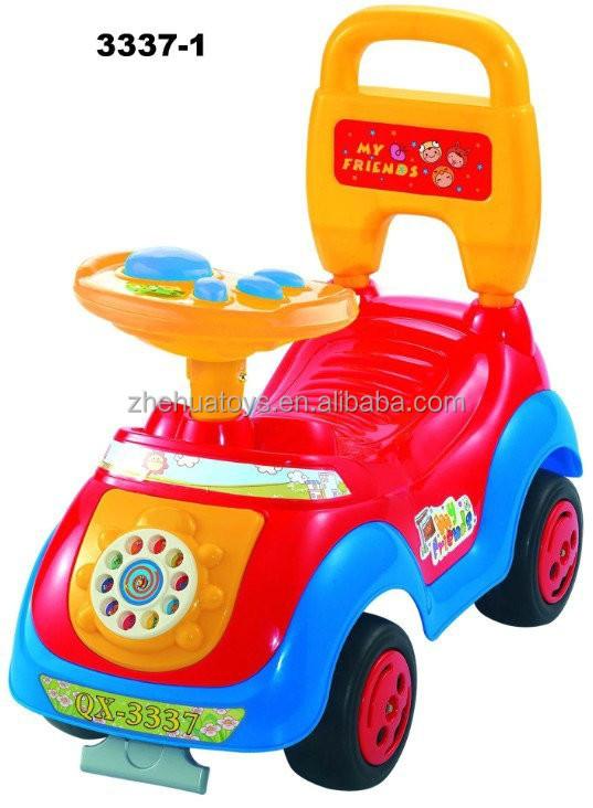 Music Steering Wheel Plastic Toys Kids Ride On Car Baby Ride On