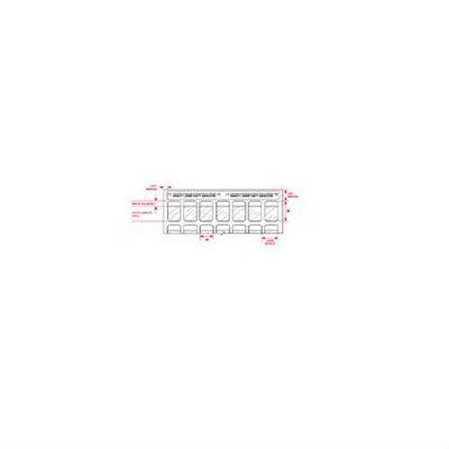 Brady Lat-18-361-2.5,29743 Laser Printable Labels