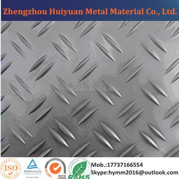 Hot Sale 5-bar Aluminum Tread Plate Sheet/ Aluminum Checker Sheet ...