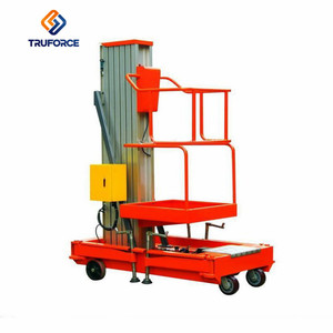 Factory Selling 16m Mobile Hydraulic ladder lift Aerial electric lift