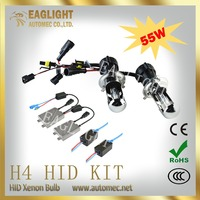 High Quality hid xenon kit Long life imported materials 55w H4 H L 12v hid kit