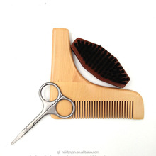 Beard Shaping Tool and Scissors Kit, Shaper and Styling Template Comb